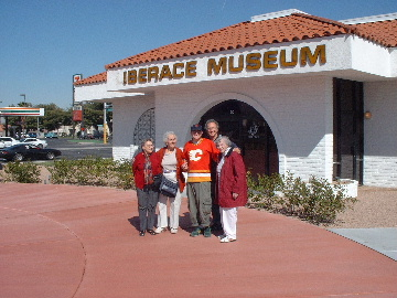 Us outside the Iberace museum